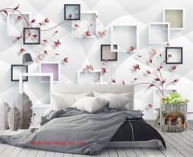 Giấy dán tường phòng ngủ 3d-195