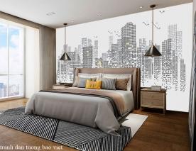 Giấy dán tường phòng ngủ fm510