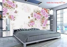Giấy dán tường phòng ngủ h315
