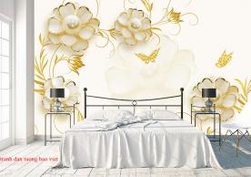 Giấy dán tường phòng ngủ fl204