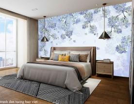 Giấy dán tường phòng ngủ h299