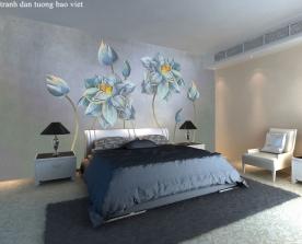 Giấy dán tường phòng ngủ h302