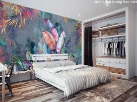 Giấy dán tường phòng ngủ tr330