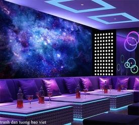 Tranh dán tường galaxy c205