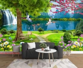 Tranh dán tường phong cảnh thiên nhên fi148