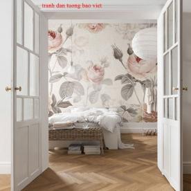 Giấy dán tường phòng ngủ h304