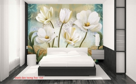 Giấy dán tường phòng ngủ h305