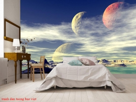 Giấy dán tường phòng ngủ me161