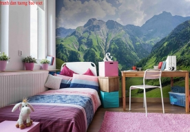 Giấy dán tường phòng ngủ me173