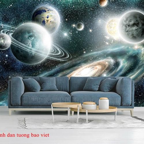 Tranh dán tường 3d galaxy me164