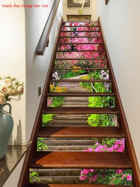 Decal stickers stairs sek292