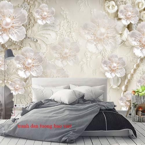 Giấy dán tường phòng ngủ 3d fl206