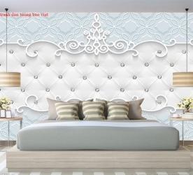 Giấy dán tường phòng ngủ 3d-206