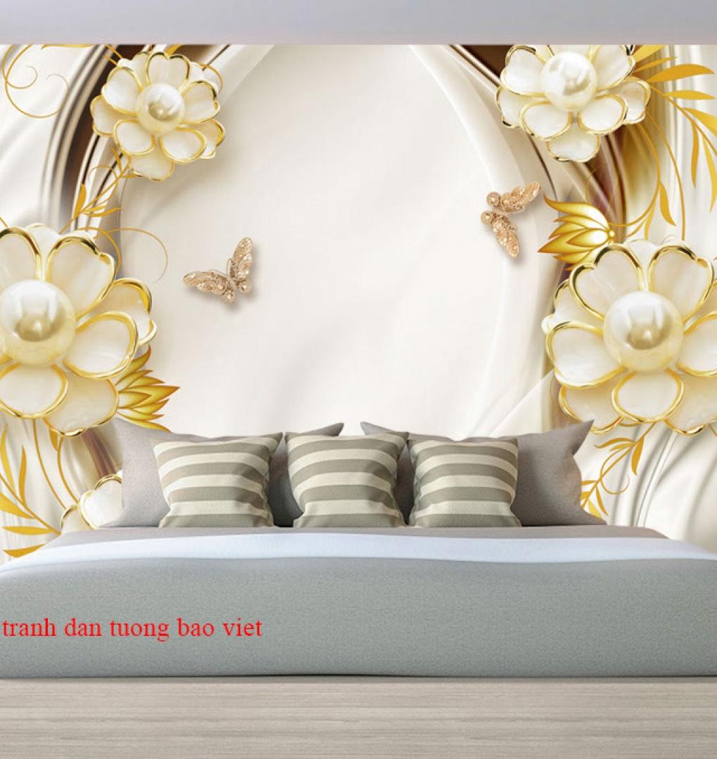 Giấy dán tường phòng ngủ fl215