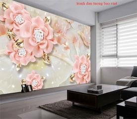 Giấy dán tường phòng ngủ fl216