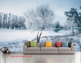 Giấy dán tường phong cảnh đẹp cho phòng ngủ tr344