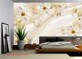 Giấy dán tường phòng ngủ fl221