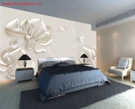 Giấy dán tường phòng ngủ h326