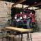Tranh dán tường 3d cho quán cafe fm535