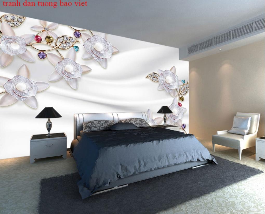 Giấy dán tường phòng ngủ fl224