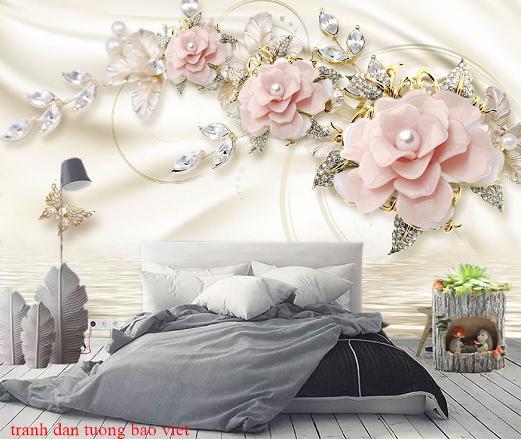 Giấy dán tường phòng ngủ fl226