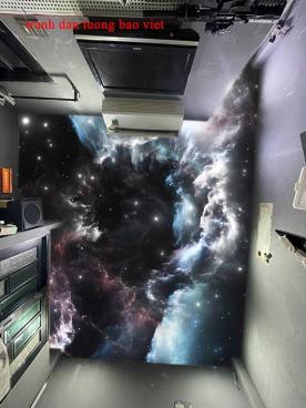 Giấy dán tường phòng ngủ dán trần nhà c216