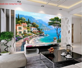 3d wall paintings fm464
