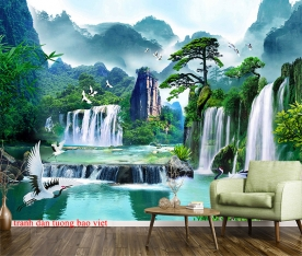 Feng shui wall paintings ft144
