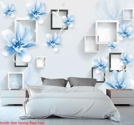 Giấy dán tường phòng ngủ 3d-176