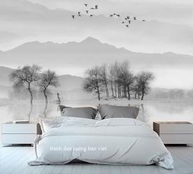 Giấy dán tường phòng ngủ tr325