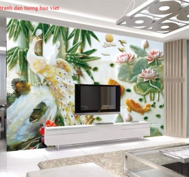3d wall paintings fl192