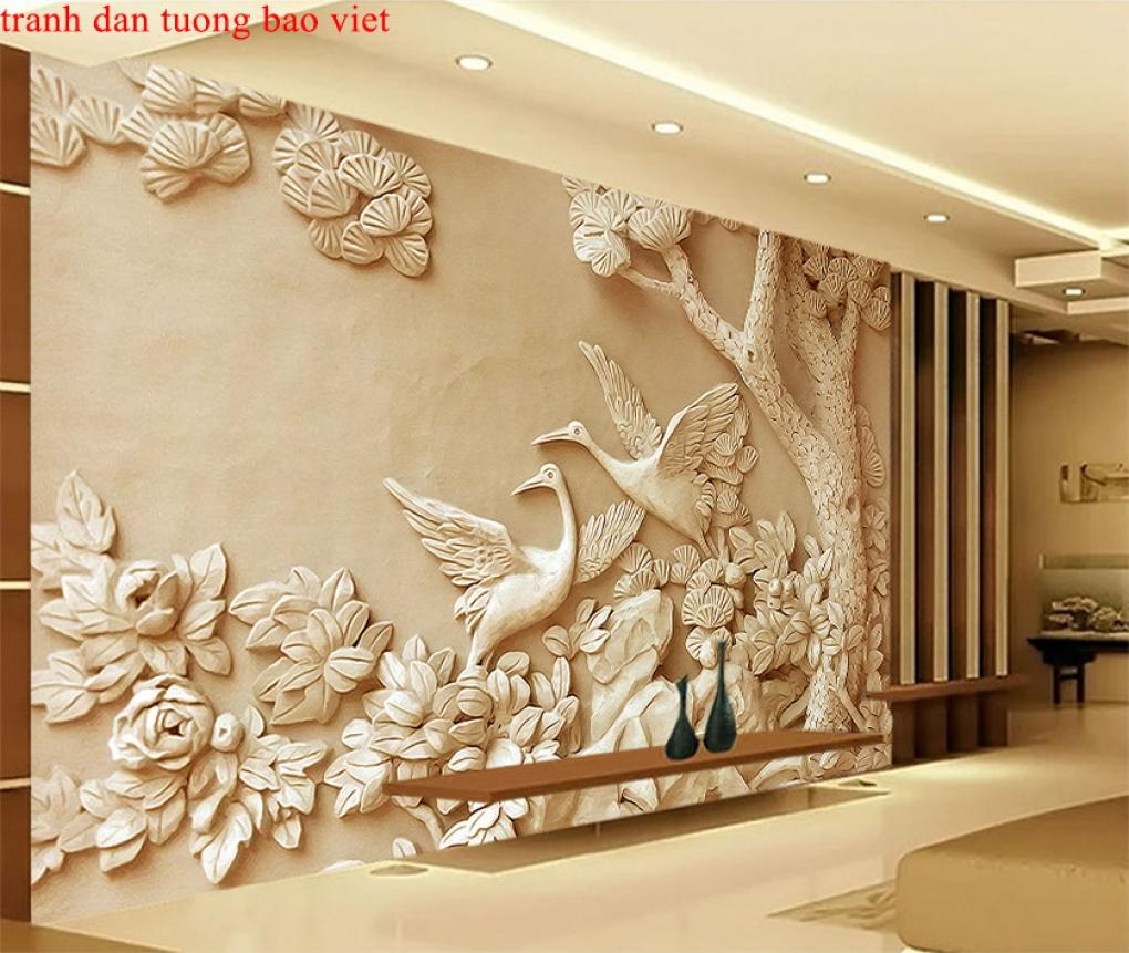 Tranh dán tường 3d ft110