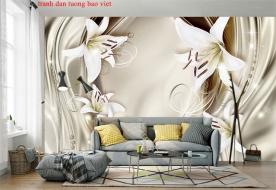 Giấy dán tường phòng ngủ 3d fl200