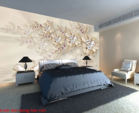 Giấy dán tường phòng ngủ fl197