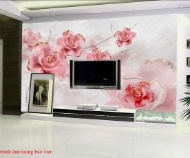Giấy dán tường phòng ngủ fl201