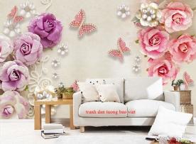 Giấy dán tường phòng ngủ fl202
