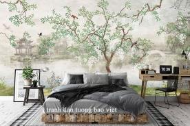 Giấy dán tường phòng ngủ tr326