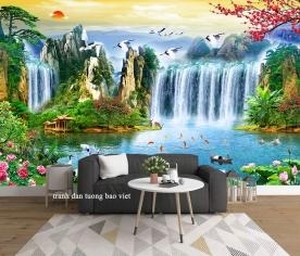 Wallpaper 3d feng shui ft117