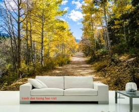 Tranh dán tường phong cảnh thiên nhiên tr328