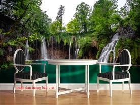 Tranh dán tường thác nước w203