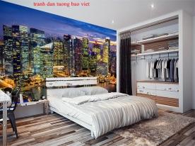 Giấy dán tường phòng ngủ me247