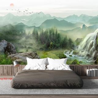 Giấy dán tường phòng ngủ với điểm nhấn độc đáo