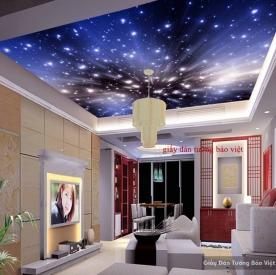 Giấy dán trần nhà galaxy C054