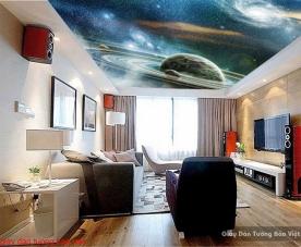 Giấy dán trần nhà galaxy c148
