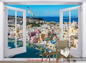 Giấy dán tường cửa sổ Fm288