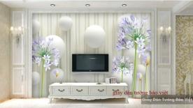 Giấy dán tường đẹp 3D-012