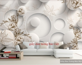 Giấy dán tường đẹp 3D-015