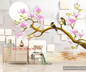 Giấy dán tường đẹp 3D-021