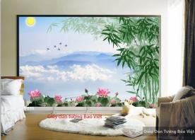 Giấy dán tường đẹp Art001