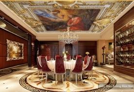 Giấy dán tường đẹp dán trần nhà C016